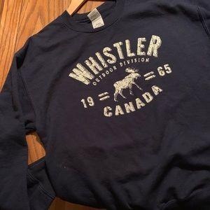 Sweaters - Whistler Crewneck in Navy. So cozy!